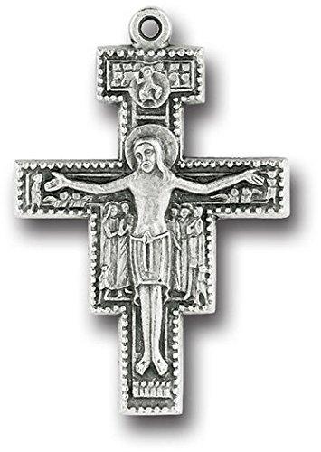 stealstreet San Damiano klein Metall Kruzifix