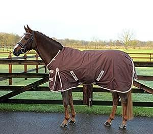 QHP chemise imperméable et respirante, sans rembourrage étanche 600D découpes pattes beige 125 cm (marron)