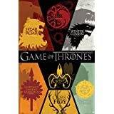 Póster Game of Thrones - Sigils - cartel económico, póster XXL
