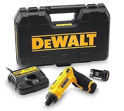 DeWalt DCF680G2-QW Atornillador Giroscópico de Dos Posiciones 7, 9 W, 7.2 V, Negro, Amarillo