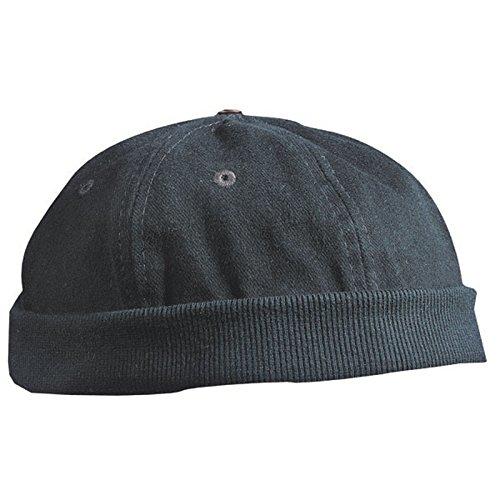 Chef Cap von Myrtle Beach Mütze ohne Schild schwarz