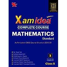 Xam Idea Complete Course Mathematics for CBSE Class 10 - 2020 Exam