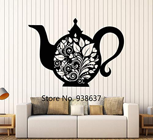 Sofa Backgound Dekoration Wasserkocher Teekanne Tee Küche Dekor Geschirr Aufkleber Wandaufkleber Removable Home Decor Z 84.x120 ()