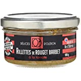 Délice d'Oléron Rillettes de Rouget à  la Tomate 120 g - Lot de 8