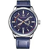 Curren Men's Analog Leather Watch 8211