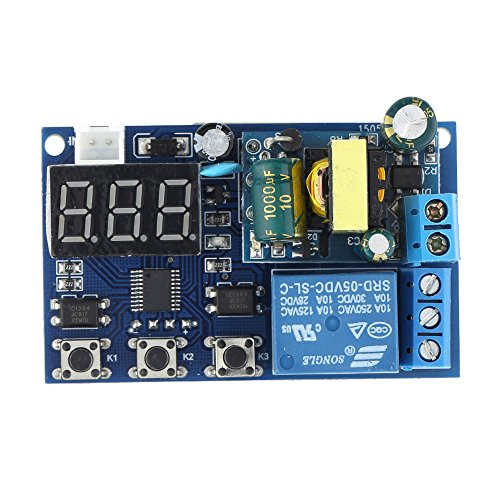 KKmoon AC 220V LED Visualizzazione Automazione Digitale Temporizzatore del Ritardo Controllo Relè Interruttore Modulo