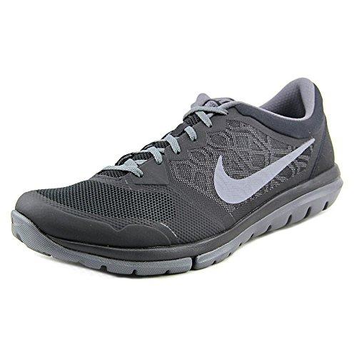 Nike Flex 2015 Rn Scarpe da ginnastica, Uomo Mehrfarbig (Black/Cool Grey-Dark Grey)