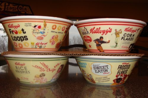 set-of-4-kelloggs-cereal-bowls-tony-the-tiger-snap-crackle-pop-toucan-sam-and-sunny-by-kelloggs