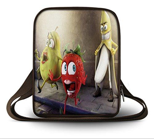 Luxburg® Design Tablettasche Hülle mit Schultergurt/Schultertasche für Apple iPad, eBook Reader & Tablet PC bis 10,1 Zoll, Motiv: Oh My God Banane