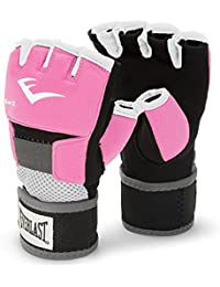 Everlast Ever-Gel - Guantes de boxeo para mujer (con gel) color rosa, talla L