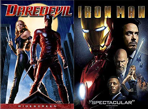 Very Early MCU with Iron Man & Daredevil (2 Disc Special Widescreen Edition) 2-DVD Bundle Marvel Comics Universe Collection