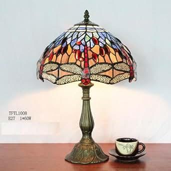 "Tiffany Style Table Lamp 10"""