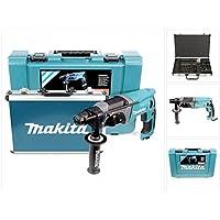 Makita HR2470 Bohrmaschine mit Bohrer und Meißelset, 780 W, 220 V