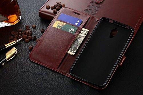 Für LeTV 1 Pro Fall, Normallack TPU / PU Ledertasche Folio Flip Stand Brieftasche Case Cover mit 2 Karten Slot & 1 Cash Slot ( Color : Blue ) White