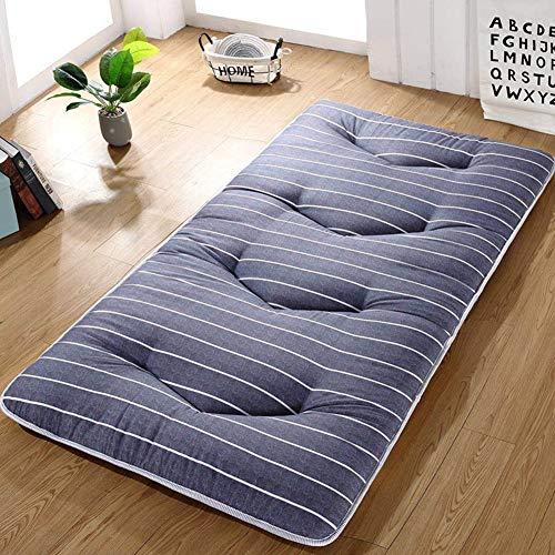 HAOLY Japanischen futon Tatami Kissen matratze verdicken,Bodenmatratze,Kissen-matratzenauflage,Anti-rutsch schlafenden Kissen Faltbare matratze-L 90x200cm(35x79inch)