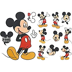 Cartoon Kids Minnie et Mickey Mouse Stickers muraux chambre bébé et enfants décor Cartoon chambre produit (Mikey)