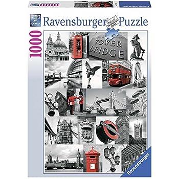 Ravensburger - 19144 4 - Puzzle - Londres - 1000 Pièces
