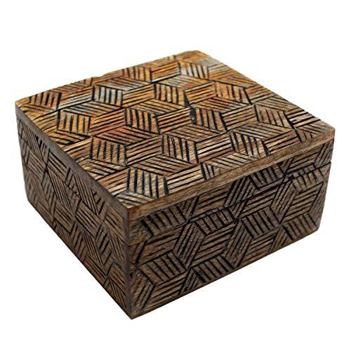 Gall&Zick Holzbox, Holzkiste mit Deckel, Dekobox, Handarbeit, CL-110