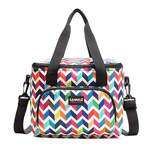 QXLhxuIo-Wohnen Isolierte Lunchpaket Eisbeutel Picknicktasche Fashion Camouflage Kleinigkeiten Tasche oder Einkaufstasche, Für Frauen Männer Kinder Erwachsene -