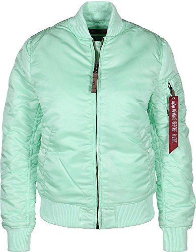 Alpha Industries MA-1 VF 59 Women Jacket Bomberjacke 133009, Größe:M;Farbe:Mint
