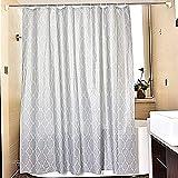 Duschvorhänge,Bad Trennwand Vorhang Wasserdicht Anti Schimmel Verdicken Sie Umweltschutz-H 240x200cm(94x79inch)