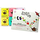 English Tea Shop Organic Super Tea Collection (Pack of 48 Tea Bags)