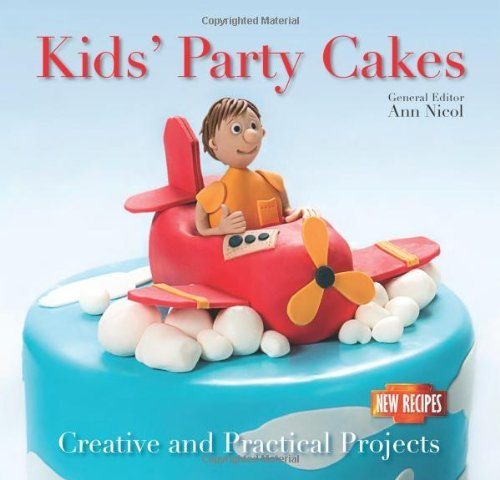 Portada del libro Kids' Party Cakes: Quick and Easy Recipes (Quick and Easy, Proven Recipes) by Ann Nicol (Illustrated, 28 Mar 2014) Paperback