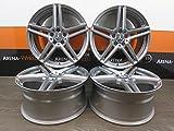 4 Alufelgen RIAL M10 16 Zoll passend für Mercedes A 176 B 246 C 203 205 20CLA CLC CLK E 211 212 SLK NEU