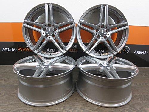 Mercedes-Benz B W246 A W169 W176 CLA C W204 7.5J x 17 Zoll ET 52.5 Alufelgen NEU