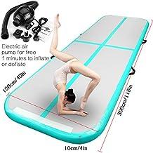 Allkpoper Inflatable Gymnastic Mat Air Track   Amazoncom