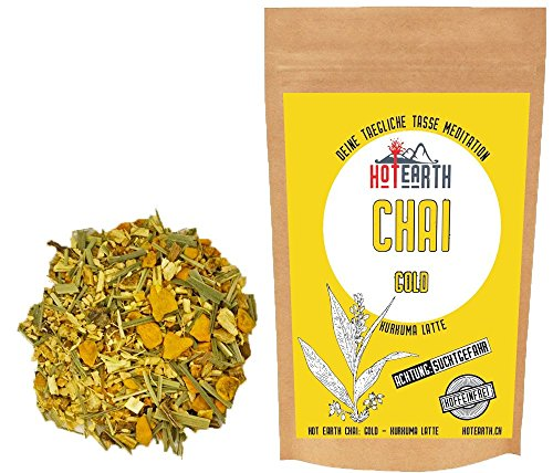 Hot Earth Chai: Gold - Kurkuma Latte - Goldene Milch (60g)