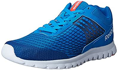 Reebok Men's Sublite Escape 3.0 Blue,White and Red Running Shoes - 10 UK