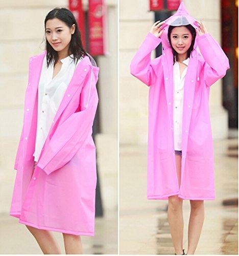 Longue Section Raincoat extérieure Adulte Sur les modèles Pied Tourisme Raincoat Homme Femme Mode Corée Chapeau Transparent individuel de grande taille Poncho Veste imperméable ( couleur : N ° 6 , tai N ° 4