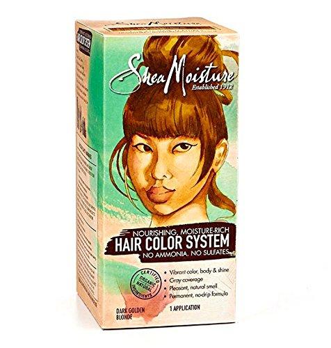 Shea Moisture Certified Organic Dark Golden Blonde Hair Color System by Shea Moisture