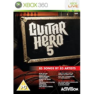 Guitar Hero 5 - Game Only (Xbox 360)