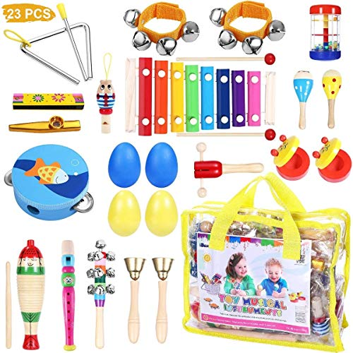 iBaseToy Toddler Musical Instrum...