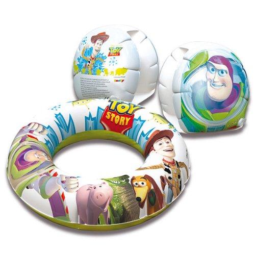 Smoby - 40084 - Jeu de Plein Air - Brassards + Bouée Toy Story 50 Cm