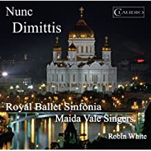 Nunc Dimittis (Russian Sacred Music) (Claudio Records: CR6012-6) (Royal Ballet Sinfonia/ Maida Vale Singers/ Robin White) [DVD de Audio]