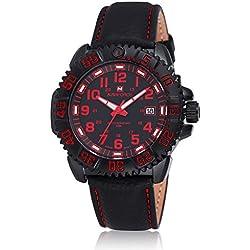 Digital case quartz sport men's watch