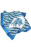 Baumwolltuch Bayern, Trachtenhalstuch, Einsteck-oder Schnupftabaktuch