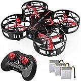 SNAPTAIN H823H Plus Mini Drone para Niños, Dron con 3 Baterías, 21 Minutos de Tiempo de Vuelo - Mini Helicóptero Quadcopter p