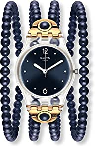 Watch Swatch Lady LK352 NIGHT PROHIBITION