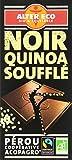 Alter Eco Tablette de Chocolat Noir Quinoa soufflé Bio...