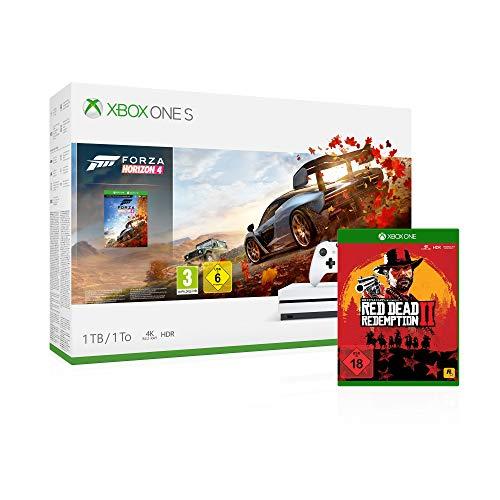 0889842307122 - Microsoft Xbox One S 1TB - Forza Horizon 4