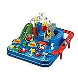 Broadwage Car Big Adventure Toys, Car Avion Piste Parking Parking Trap Parent-Enfant Interactive Toy Pass Le Jeu de Mise à Niveau. (Multicolore)
