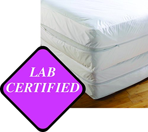 Bed Bug Mattress Cover Anti Allergy Waterproof Zippered
