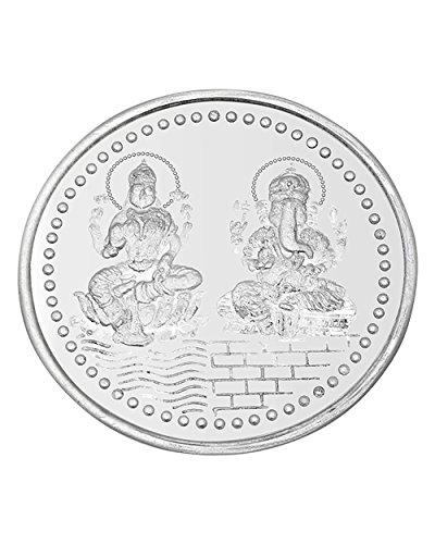 Voylla Auspicious 10gm Silver Coin With 999 Purity