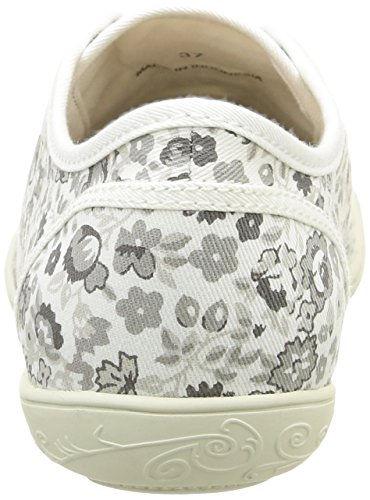 PLDM by Palladium Game Print, Baskets Basses Femme Blanc (739 White/Flower)