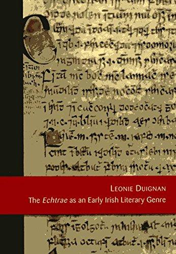 The Echtrae as an Irish Literary Genre. Echtrae als eine mittelalterliche irische Textsorte
