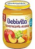 Bebivita Feines Früchte-Allerlei, 6er Pack (6 x 190 g)